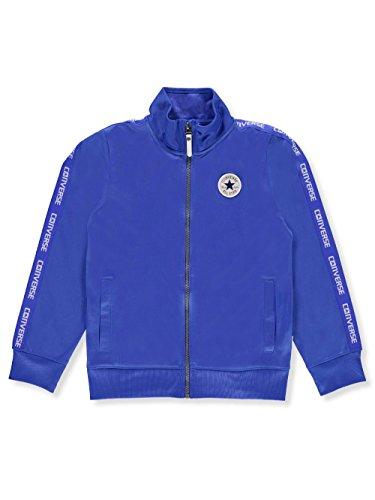 Converse Boys' Track Jacket - Laser Blue, 8