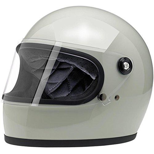 Retro Style Full Face Helmet - 8