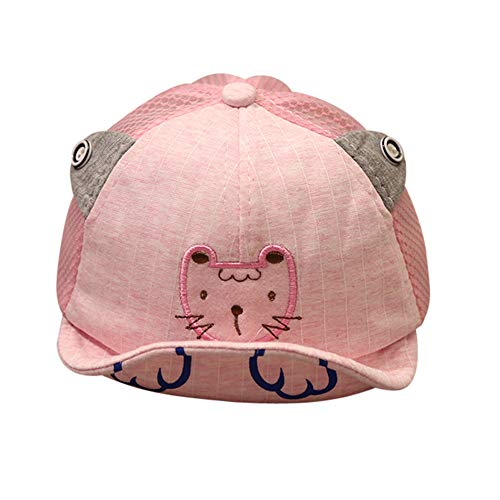Lomsarsh Cute Infant Kids Tiger Cartoon Animal Bongrace Hat Peak Baseball Cap Sunhat Infant Animal Cartoon Little Tiger Soft Baseball Visor
