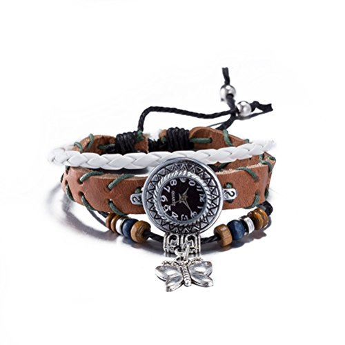 FENDINA-Womens-Ethnic-Style-Leather-Rope-Bracelet-Quartz-Watch-Adjustable-Lace-Wrap-Around-Watch-with-Butterfly