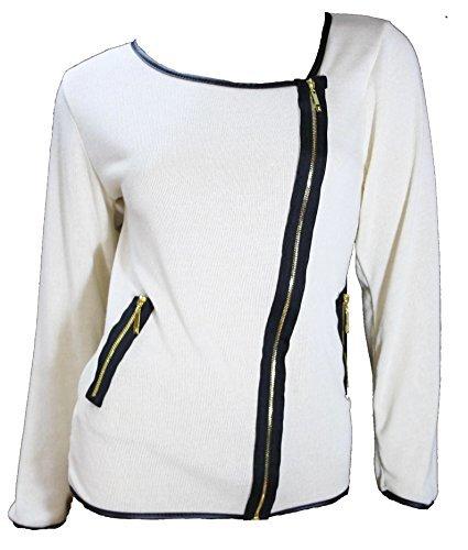 #933 Damen Designer Blazer Bolero Langarm Grau Onesize 34 36 38