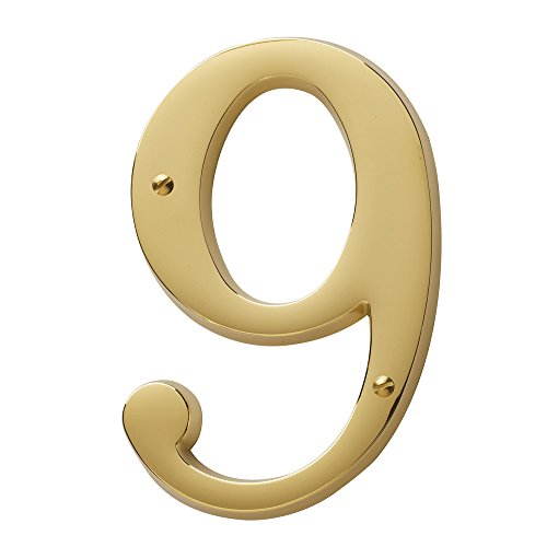Baldwin Brass House Numbers - 9