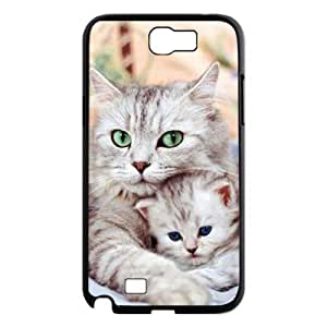 Cats Personalized Cover Case for Samsung Galaxy Note 2 N7100,customized phone case ygtg-304362
