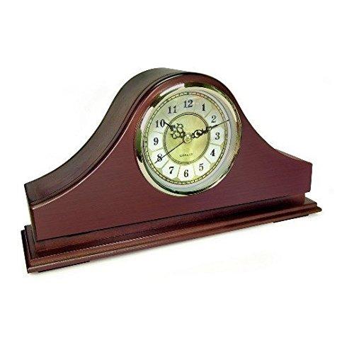 Mantel Clock Hidden Camera - KJB SpyTec HC-C1570WF 720p HD 30fps SG1570WF Wi-Fi Mantel Clock Hidden Camera