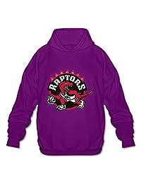 Men's Toronto Raptors Logo 2016 Popular Pullover Hoodie Sweatshirts Purple