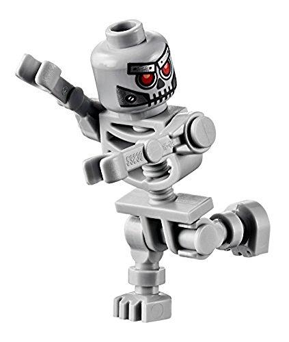 LEGO Movie Skeletron Minifigure (Robot Skeleton) (Lego Skeleton)