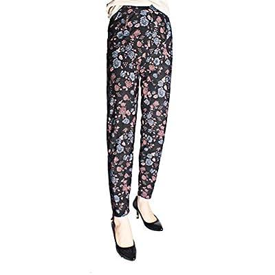 TENDYCOCO Moda Casual Mujer Pantalones Pantalones de poliéster Estampados Pantalones de Tobillo a Rayas - Patrón 2 / Tamaño Libre (como se Muestra): Hogar