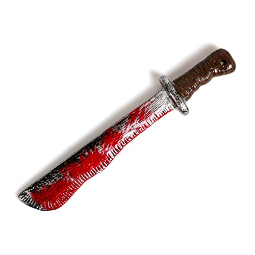 Dance Material For Costumes (CASACLAUSI Halloween Kid Machete Deluxe Costume Cosplay Horror Accessory)