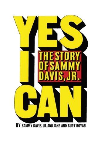 Resultado de imagen para Yes I Can de Sammy Davis Jr., Burt Boyar, Jane Boyar