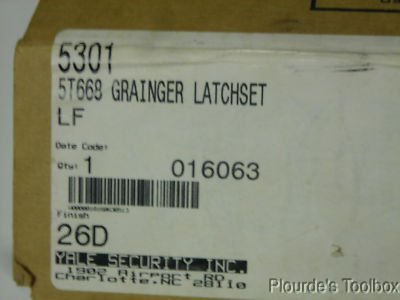 Yale LF5301 380BN x 497 Latchset