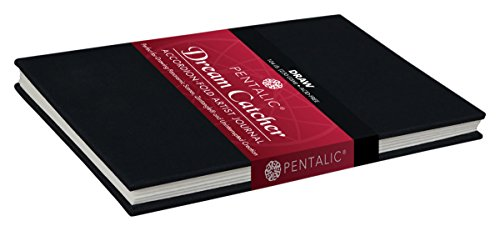 Pentalic Watercolor Accordian Fold Dream Catcher Sketch Book