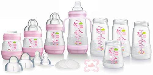 MAM Anti-Kolik-Flasche, selbststerilisierend Starter Set (weiß)