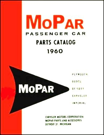 amazon com factory mopar parts manual for 1960 plymouth dodge rh amazon com 1968 dodge dart parts catalog dodge dart parts list