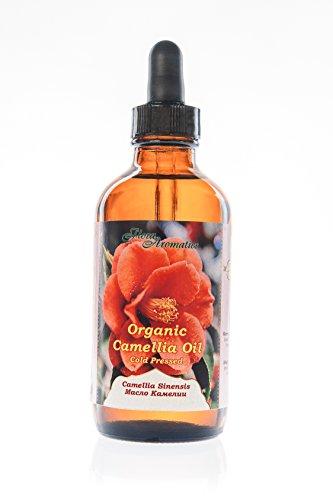 Organic Camellia Seed Oil 4 fl oz/120 ml