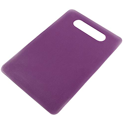 millet16zjh Nonslip Plastic Chopping Board Food Cutting Block Mat Tool Kitchen Cook Supplies - Purple (Collection Kitchen Tools Purple)