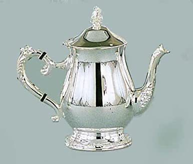 Elegance Silver 89808 Romantica Collection Silver Plated Tea Pot 32 oz.  sc 1 st  Amazon.com : silver plated tea sets - pezcame.com