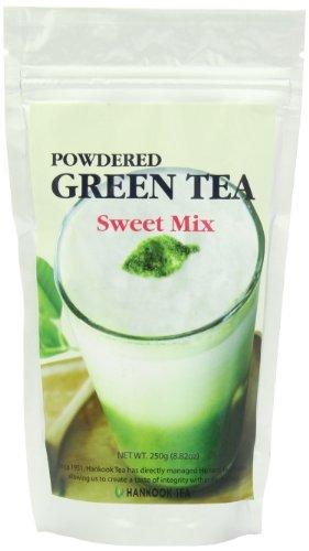 Hankook Tea Powdered Green Tea Sweet Mix, 8.825 Ounce