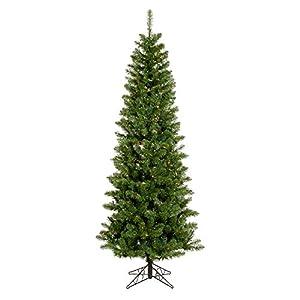 Vickerman 45' Unlit Salem Pencil Pine Artificial Christmas Tree 110