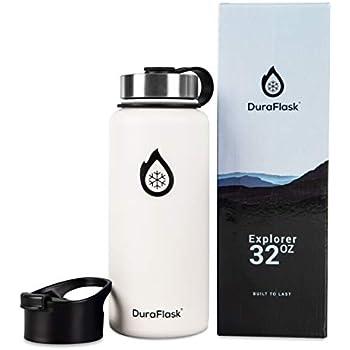 Amazon.com: DuraFlask Explorer Botella de agua de doble ...