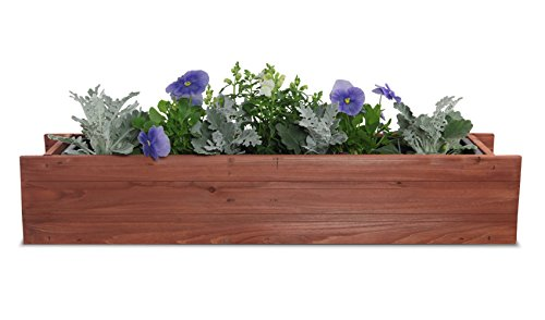 Matthews Window Box with Planter Guard Heartwood, 6