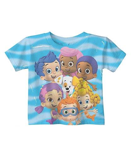 Nickelodeon Boys' Bubble Guppies Wave Tee 4T Multi