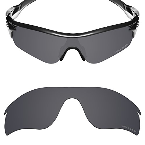 Mryok+ Polarized Replacement Lenses for Oakley RadarLock Path - Stealth - Polarized Radarlock Path