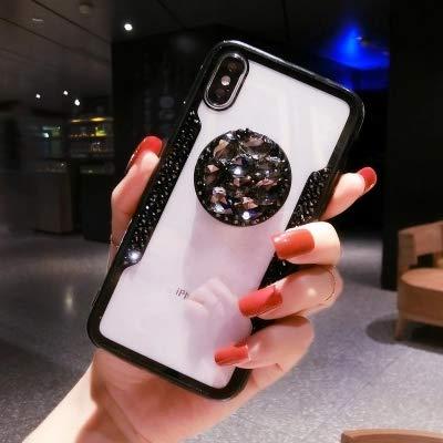 1 piece LaMaDiaa 2018 Hot Selling Luxury Fashion Airbag Diamond Bracket Lanyard Phone Cases For iPhone X 8 7 6 6SPlus Back...