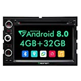 Double Din Car Stereo Eonon Car Stereo Radio with Bluetooth Octa Core 4GB RAM+32GB ROM 7 Inch Applicable to Ford F150 2005,2006,2007 and 2008 in Dash Touch Screen Support WiFi,Fastboot-GA9173A