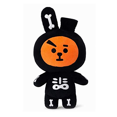 kpop bts plush toy BTS BT21 Halloween Style Soft Stuffed Plush Toy Cartoon Doll Cosplay Gift ()