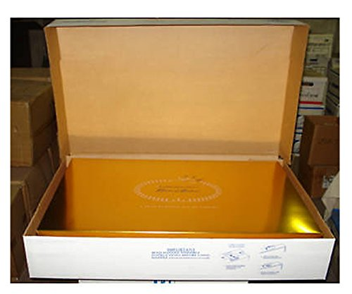 Acid free wedding dress premium preservation box bridal for Acid free boxes for wedding dresses