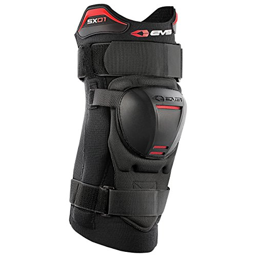 (EVS Sports Men's Knee Brace (SX01) (Black, Medium))