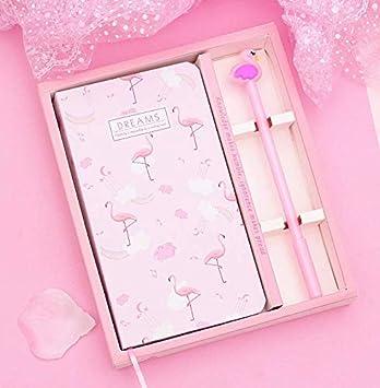 Agenda de Flamingo con bolígrafo, Kits de papelería, el ...