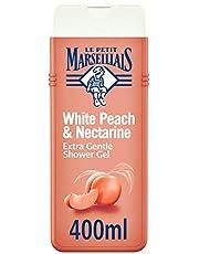 LE PETIT MARSEILLAIS, Shower Cream, White Peach & Nectarine, Extra Gentle