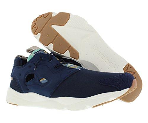Reebok Furylite Gp Casual Hommes Chaussures Taille Faux Indigo / Craie / Parchemin