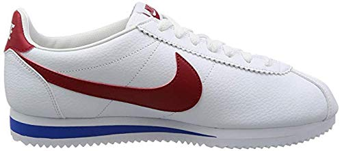 (Nike Men's Classic Cortez Leather Fashion Sneakers (10))