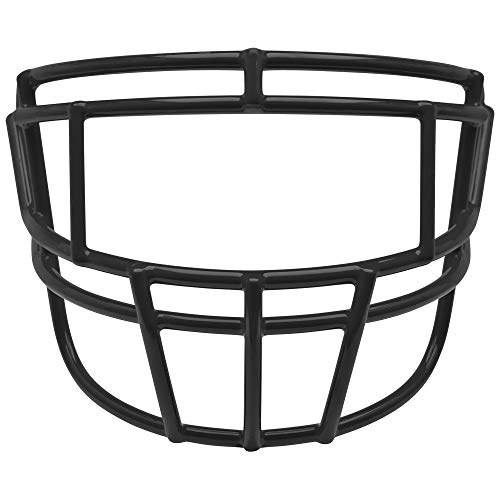Adult Football Face Mask - Schutt EGOP-II Varsity Faceguard (Black, Varsity)