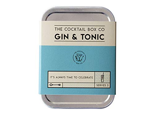 The Gin & Tonic from The Cocktail Box Co. - Makes 3 Premium Craft - Kit Co