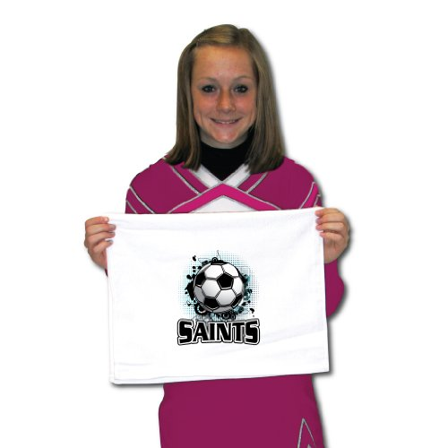 Set of 16 Saints Mascot Soccer Team Towels by Victory