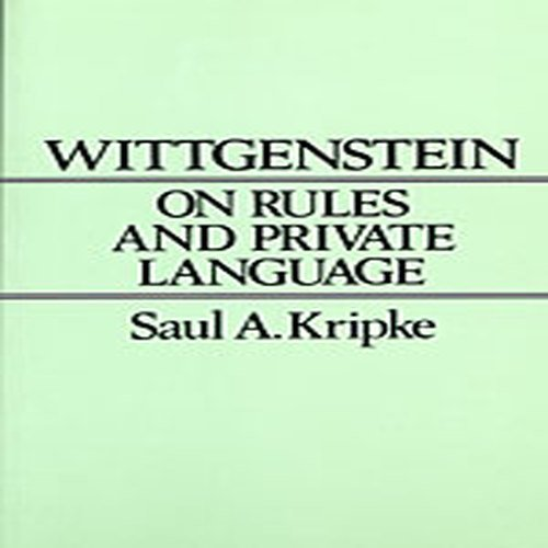 Wittgenstein on Rules and Private Language: An Elementary Exposition by Brand: Harvard University Press