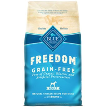 Blue Buffalo Freedom Grain Free Chicken Recipe Adult Dry Dog Food, 4-Pound, My Pet Supplies