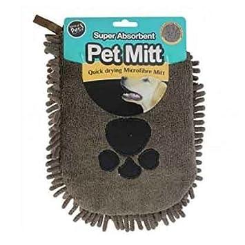 Gran tamaño 100 x 60 cm mascota perro cachorro rápido secado toalla de limpieza de microfibra