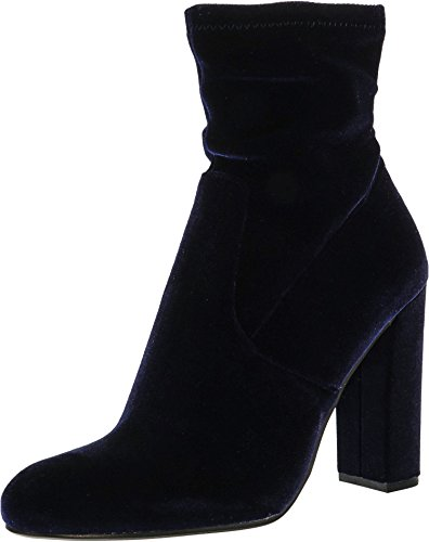 Steve Boot Echo Women's Navy Madden Top Velvet High awra4qf