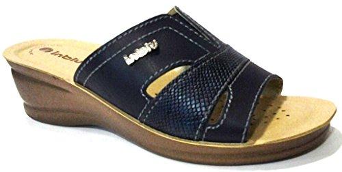 INBLU , Sandales pour femme bleu bleu 36 EU