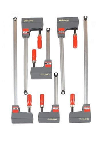 Bessey UNIK-6S 6-Piece Multi-Purpose Parallel UniKlamp Set by Bessey