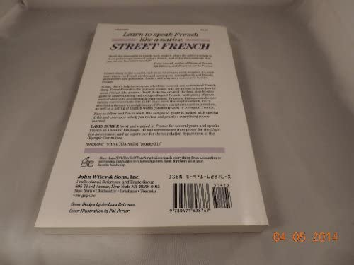 Amazon com: Street French: How to Speak and Understand