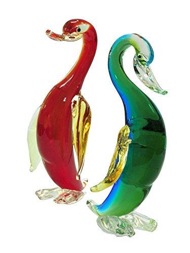 Dale Tiffany AS14077 2-Piece Wigeon Ducks Figurines ()