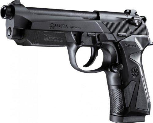 2 opinioni per Set: Softair Two pistola Beretta 90a molla sotto 0,5J 6mm BB + G8DS ® Bio da