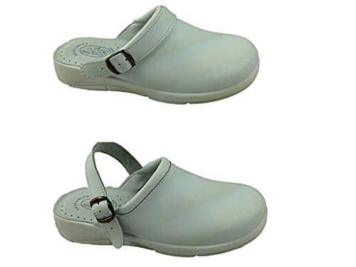 Foster Footwear - Sandalias con cuña mujer White/Strap