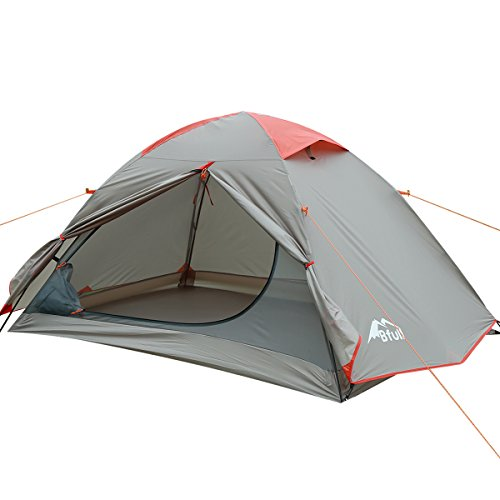 Camping Tent, Portable Folding Waterproof Outdoor Tent for Hiking Climbing Dome Durable Camping for 1-3 Person
