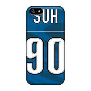First-class Case For Iphone 4/4S Cover Dual Protection Cover Detroit Lions